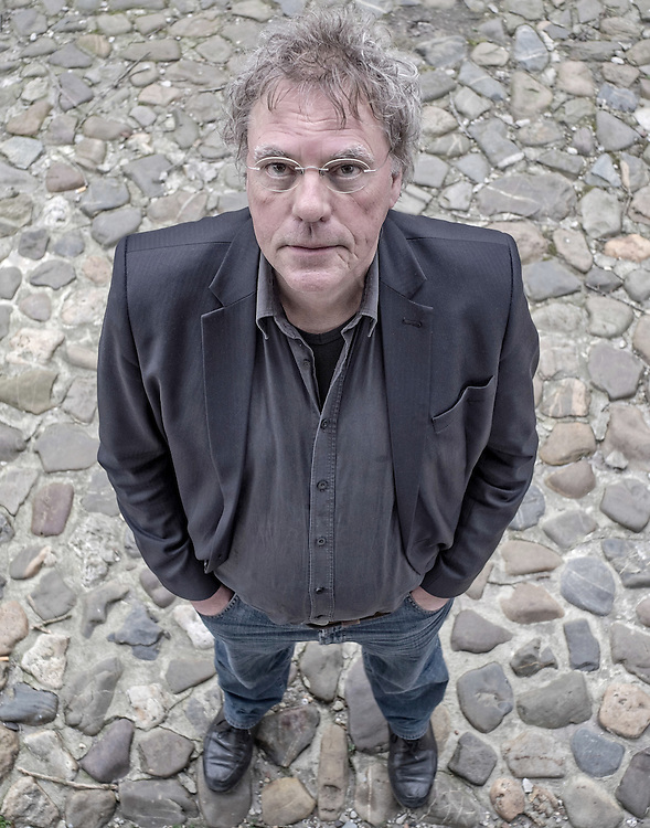 Nederland. Wageningen, 19-03-2015. Foto: Patrick Post. Portret van Professor Jan Douwe van der Ploeg.
