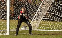 Girls varsity soccer Pittsfield versus Derryfield October 11, 2011