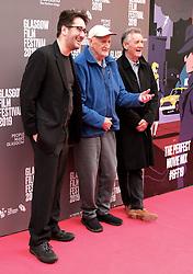 "Glasgow Film Festival, Sunday 3rd March 2019<br /> <br /> UK Premiere of ""Final Ascent""<br /> <br /> Pictured: Robbie Fraser, Hamish MacInnes and Sir Michael Palin<br /> <br /> Alex Todd   Edinburgh Elite media"