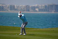 Sami Valimaki (FIN) on the 9th during Round 3 of the Oman Open 2020 at the Al Mouj Golf Club, Muscat, Oman . 29/02/2020<br /> Picture: Golffile | Thos Caffrey<br /> <br /> <br /> All photo usage must carry mandatory copyright credit (© Golffile | Thos Caffrey)