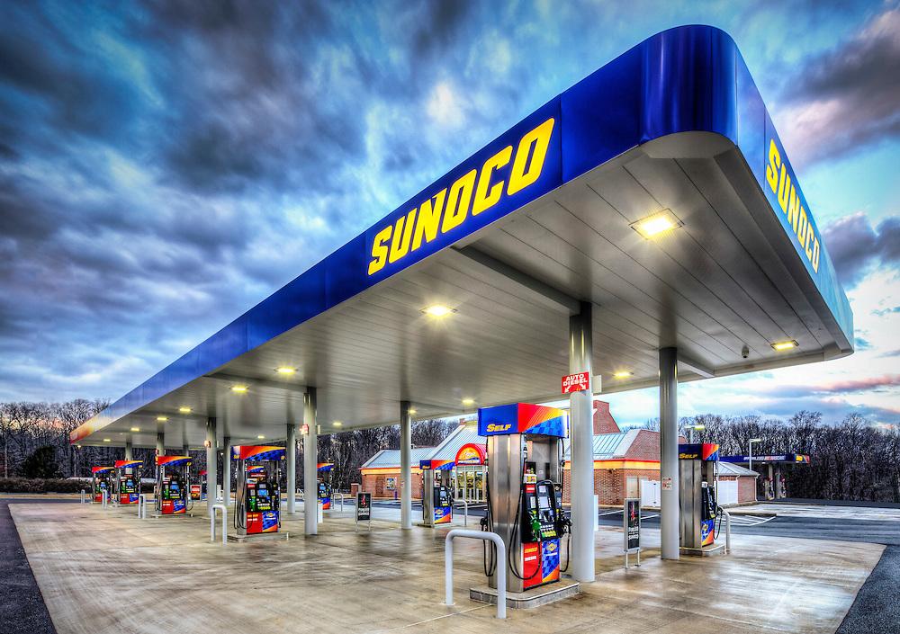 Sunoco gas station on I95