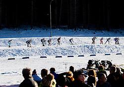 Women 12.5 km Mass Start at day 4 of IBU Biathlon World Cup 2015/16 Pokljuka, on December 20, 2015 in Rudno polje, Pokljuka, Slovenia. Photo by Vid Ponikvar / Sportida