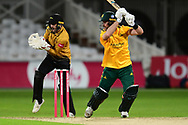 Dan Christian of Nottinghamshire during the Vitality T20 Blast North Group match between Nottinghamshire County Cricket Club and Leicestershire County Cricket Club at Trent Bridge, Nottingham, United Kingdom on 4 September 2020.