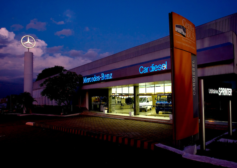 Belo Horizonte_MG, Brasil...Unidade Cardiesel do Grupo VDL em Belo Horizonte, Concessionaria Mercedes Benz, Minas Gerais...The Cardiesel, VLD group, in Belo Horizonte, The Mercedes Benz Dealer, Minas Gerais...Foto: LEO DRUMOND / NITRO