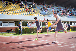 Tilen Ovnicek competes during day 1 of Slovenian Athletics Cup 2019, on June 15, 2019 in Celje, Slovenia. Photo by Peter Kastelic / Sportida