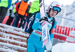 15.12.2017, Gross Titlis Schanze, Engelberg, SUI, FIS Weltcup Ski Sprung, Engelberg, im Bild Andreas Stjernen (NOR) // Andreas Stjernen of Norway during Mens FIS Skijumping World Cup at the Gross Titlis Schanze in Engelberg, Switzerland on 2017/12/15. EXPA Pictures © 2017, PhotoCredit: EXPA/JFK