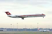 I-SMET Meridiana McDonnell Douglas MD-82 at Milan - Malpensa