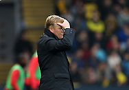 Everton's Ronald Koeman looks on dejected during the Premier League match at Vicarage Road Stadium, London. Picture date December 10th, 2016 Pic David Klein/Sportimage