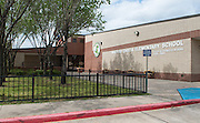 Macario Garcia Elementary School photographed April 7, 2013. The school was a recipient of funds from the 2007 Bond.