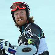 Leif Kristian Haugen, Norway, after crashing during the Men's Slalom event during the Winter Games at Cardrona, Wanaka, New Zealand, 24th August 2011. Photo Tim Clayton...