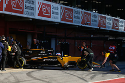 March 7, 2017 - Barcelona, Cataluna, Spain - Motorsports: FIA Formula One World Championship 2017, Test in Barcelona,.Jolyon Palmer (GBR, Renault Sport F1 Team) (Credit Image: © Hoch Zwei via ZUMA Wire)