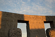 The Maryhill Stonehenge is a full-size, astronomically-aligned replica of Stonehenge located in Maryhill, Washington. It was commissioned in the early 20th century by businessman Samuel Hill and dedicated on July 4, 1918 as a memorial to those that died in World War I. The memorial was completed in 1929. It is constructed of concrete.