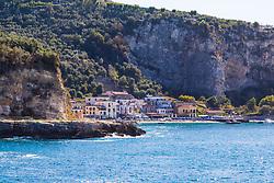 Sorrento, Italy, September 18 2017. The seaside hamlet of Poulo near Sorrento, Italy. © Paul Davey