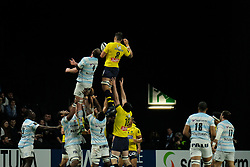 January 8, 2018 - Nanterre, Hauts de Seine, France - Clermont Number eight DAMIEN CHOULY in action during the French rugby championship Top 14 match between Racing Metro 92 and Clermont at U Arena Stadium in Nanterre - France.Racing won 58-6 (Credit Image: © Pierre Stevenin via ZUMA Wire)