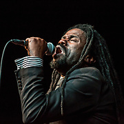Rev. Sekou and the Holy Ghost performing at Susquehanna University in Selinsgrove, Pennsylvania on March 23, 2016.