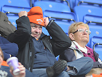 Blackpool fans before the match<br /> <br /> Photographer Kevin Barnes/CameraSport<br /> <br /> Football - The Football League Sky Bet Championship - Reading v Blackpool - Saturday 25th October 2014 - Madejski Stadium - Reading <br /> <br /> © CameraSport - 43 Linden Ave. Countesthorpe. Leicester. England. LE8 5PG - Tel: +44 (0) 116 277 4147 - admin@camerasport.com - www.camerasport.com