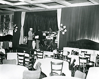 1950 Desi Arnez rehearsing with his band at Ciro's Nightclub in West Hollywood