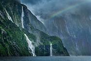 Oceania, New Zealand, Aotearoa, South Island, Southland, Te Anau, Lake Te Anau, Milford Sound (m)