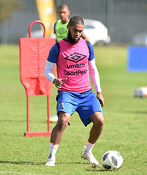 Cape Town-180823- Cape Town City player  Ebrahim Seedat at training preparing for their up comingMTN 8 semi-final against Sundowns at Cape Town Stadum.Photographer :Phando Jikelo/African News Agency/ANA