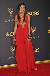 Heidi Klum at the 69th Annual Emmy Awards held at the Microsoft Theater on September 17, 2017 in Los Angeles, CA, USA (Photo by Sthanlee B. Mirador/Sipa USA)