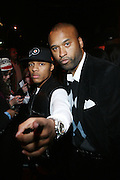 """l to r: Bow Wow and Londell McMillan at The Russell Simmons and Spike Lee  co-hosted""""I AM C.H.A.N.G.E!"""" Get out the Vote Party presented by The Source Magazine and The HipHop Summit Action Network held at Home on October 30, 2008 in New York City"""