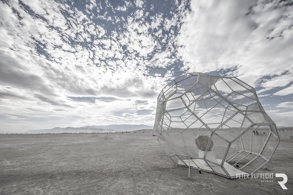 Burning Man - Hybycozo - Photograph - Peter Ruprecht