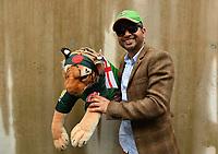 Cricket - 2019 ICC Cricket World Cup - Group Stage: Bangladesh vs. Sri Lanka<br /> <br /> Bangladesh fans in good form despite the rain, at County Ground, Bristol.<br /> <br /> COLORSPORT/ASHLEY WESTERN