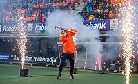 Den Bosch - Rabo fandag 2019 . hockey clinics met de spelers van het Nederlandse team. opkomst van international Floris Wortelboer (Ned).   COPYRIGHT KOEN SUYK