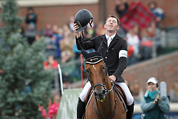 Brash Scott, (GBR), Hello Sanctos winners of the CP International Grand Prix presented by Rolex<br /> Spruce Meadows Masters - Calgary 2015<br /> © Hippo Foto - Dirk Caremans<br /> 13/09/15