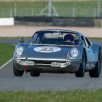 Porsche 904 Carrera GTS Coupe (1964-65) General Testing Donington Park, 23/02/2016
