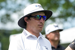May 5, 2019 - Charlotte, North Carolina, United States of America - Joel Dahmen heads down the fairway after teeing off on the tenth hole during the final round of the 2019 Wells Fargo Championship at Quail Hollow Club on May 05, 2019 in Charlotte, North Carolina. (Credit Image: © Spencer Lee/ZUMA Wire)