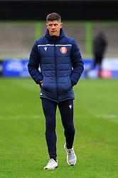 Stevenage manager Alex Revell at half time - Mandatory by-line: Nizaam Jones/JMP - 17/10/2020 - FOOTBALL - innocent New Lawn Stadium - Nailsworth, England - Forest Green Rovers v Stevenage - Sky Bet League Two
