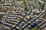Nederland, Utrecht, Utrecht, 15-07-2012; binnenstad Utrecht, Vogelenbuurt..Inner city of Utrecht, residential district Vogelenbuurt developed in the 19th century. .luchtfoto (toeslag), aerial photo (additional fee required).foto/photo Siebe Swart