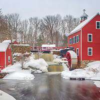 The Historic Millstream site located in Chelmsford MA of Middlesex county is an old scenic Massachusetts saw mill along with a water wheel for generating electricity.<br /> <br /> New England country photography picture of the The Historic Millstream Saw Mill are available as museum quality photo, canvas, acrylic, wood or metal prints. Wall art prints may be framed and matted to the individual liking and interior design decoration needs:<br /> <br /> https://juergen-roth.pixels.com/featured/the-historic-millstream-saw-mill-juergen-roth.html<br /> <br /> Good light and happy photo making!<br /> <br /> My best,<br /> <br /> Juergen