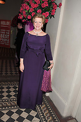 QUEEN ANNE-MARIE OF GREECE at the Red & Black Valentine's Dinner & Dance in aid of The Eve Appeal at One Mayfair, North Audley Street, London W1 on 14th February 2013.
