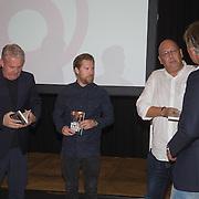 NLD/Amsterdam/20150921 - Persviewing Sbs Programma's  Dokter Tinus en Bureau Raampoort, Thomas Acda, Tim Haars, Simon de Waal