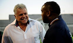 Cape Town 18-03-03 Cape Town City coach Benni McCarthy and Cape Town City John comitis in the PSL Game In Athlone Staduim against Chippa United Pictures Ayanda Ndamane African news agency/ANA