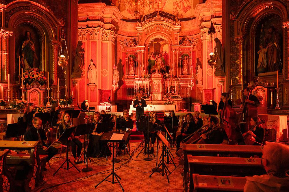 Raiffeisen Mitgliederkonzert; Orchester Sonoton in der Pfarrkirche St.Ulrich