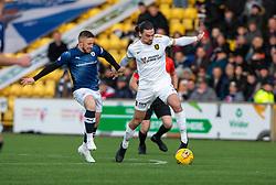 Raith Rovers John Baird and Livingston Ciaron Brown. Livingston 3 v 1 Raith Rovers, William Hill Scottish Cup played 18/1/2020 at the Livingston home ground, Tony Macaroni Arena.