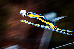 31.12.2017, Olympiaschanze, Garmisch Partenkirchen, GER, FIS Weltcup Ski Sprung, Vierschanzentournee, Garmisch Partenkirchen, Qualifikation, im Bild Junshiro Kobayashi (JPN) // Junshiro Kobayashi of Japan during his Qualification Jump for the Four Hills Tournament of FIS Ski Jumping World Cup at the Olympiaschanze in Garmisch Partenkirchen, Germany on 2017/12/31. EXPA Pictures © 2018, PhotoCredit: EXPA/ JFK