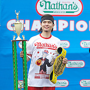 Nathan's 2015 Hot Dog Eating Contest
