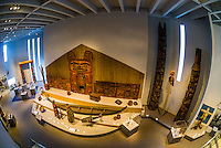 Northwest Coast Indian Art Gallery, Northern Building, Denver Art Museum, Civic Center Cultural Complex, Denver, Colorado USA