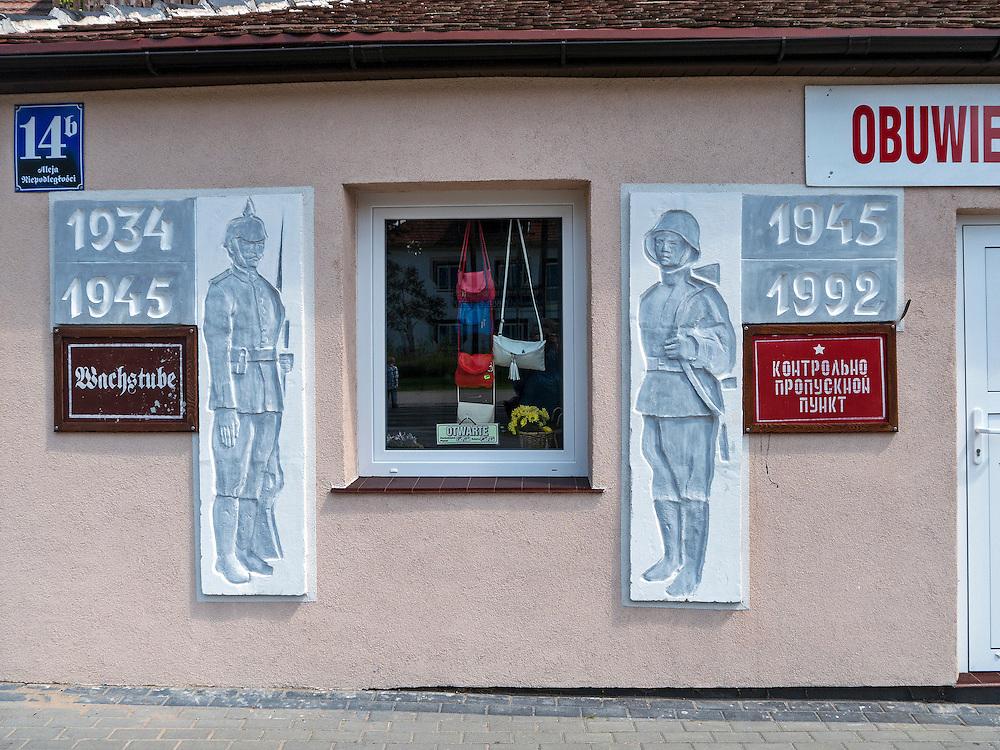 Borne Sulinowo, była baza Północnej Grupy Wojsk Radzieckich. Dawne biuro przepustek