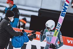 01.01.2021, Olympiaschanze, Garmisch Partenkirchen, GER, FIS Weltcup Skisprung, Vierschanzentournee, Garmisch Partenkirchen, Einzelbewerb, Herren, im Bild 3. Platz Piotr Zyla (POL) // 3rd paced Piotr Zyla of Poland during the men's individual competition for the Four Hills Tournament of FIS Ski Jumping World Cup at the Olympiaschanze in Garmisch Partenkirchen, Germany on 2021/01/01. EXPA Pictures © 2020, PhotoCredit: EXPA/ JFK