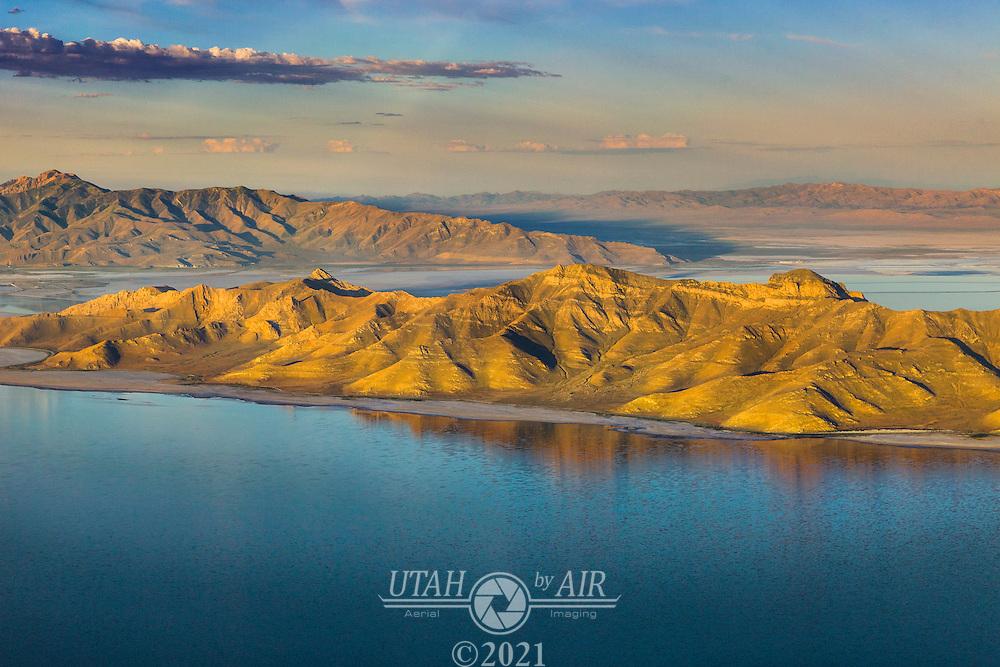 Stansbury Island on the Great Salt Lake