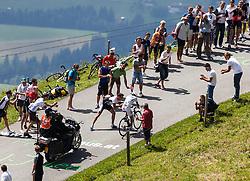 02.07.2012, Kitzbueheler Horn, AUT, 64. Oesterreich Rundfahrt, 2. Etappe, Innsbruck - Kitzbueheler Horn, im Bild .Danilo Di Luca (ITA, ASA ACQUA & SAPONE Team) // .Danilo Di Luca (ITA, ASA ACQUA & SAPONE Team) during the 64rd Tour of Austria, Stage 2, from Innsbruck to the Kitzbuehler Horn, Kitzbuehel, Austria on 2012/07/02. EXPA Pictures © 2012, PhotoCredit: EXPA/ Juergen Feichter