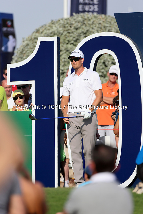 Henrik STENSON (SWE) during third round DP World Tour Championship 2013,Jemeirah Golf Estates, Dubai,UAE.