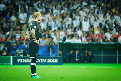Loris Karius of Liverpool during the UEFA Champions League final football match between Liverpool and Real Madrid at the Olympic Stadium in Kiev, Ukraine on May 26, 2018.Photo by Sandi Fiser / Sportida