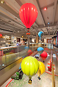 M Shed, Interior and exhibition spaces. Bristol, England. Architect: LAB Architecture Studio