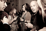 victoria anne bull; IMMODESY BLAIZE;  ANDREW SUTTON;, Launch of Stephanie Theobald's book' A Partial Indulgence'  drinks provided by Ruinart champage nd Snow Queen vodka. The Artesian at the Langham, 1c Portland Place, Regent Street, London W1 *** Local Caption *** -DO NOT ARCHIVE-© Copyright Photograph by Dafydd Jones. 248 Clapham Rd. London SW9 0PZ. Tel 0207 820 0771. www.dafjones.com.<br /> VICTORIA; IMMODESY BLAIZE;  ANDREW SUTTON;, Launch of Stephanie Theobald's book' A Partial Indulgence'  drinks provided by Ruinart champage nd Snow Queen vodka. The Artesian at the Langham, 1c Portland Place, Regent Street, London W1